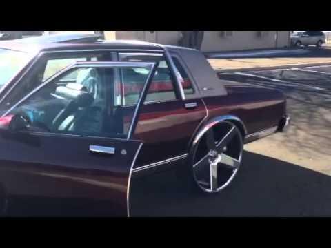 Box Chevy On 28 Inch Dub Ballas Youtube