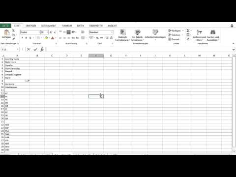 /data.mill for Excel | convert country code | en