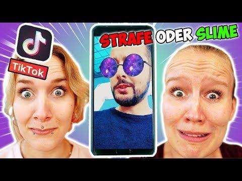 HÖR DIR NICHT DAS FALSCHE TIK TOK VIDEO AN! Kaans lustige Schleim Challenge mit Kathi & Nina