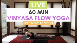 Vinyasa Yoga with Carrie Treister