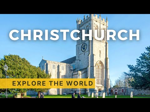 Walking in Christchurch, UK