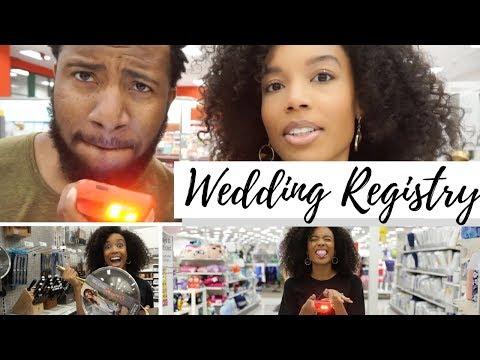 How to Build a Wedding Registry: Tips + Vlog
