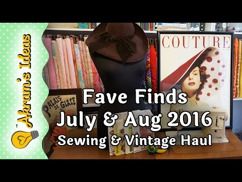 Fave Finds (haul) July & Aug 2016 - Akram's Ideas Ep. 19