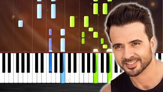 Luis Fonsi - Despacito ft. Daddy Yankee - Piano Tutorial by PlutaX