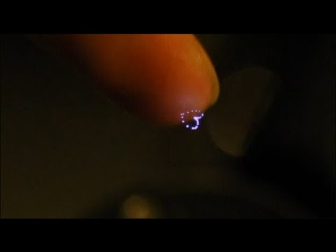 Japanese scientists create holograms that you touch and feel