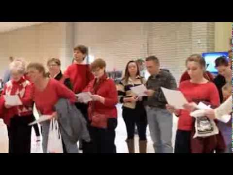 Wyoming Valley Mall Flash Mob