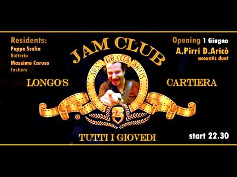 Longo's Jam Club | La Cartiera | 1 Giugno 2017