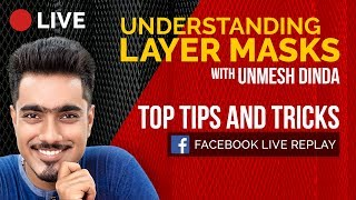 Understanding Layer Masks in Photoshop | 🔴 LIVE REPLAY