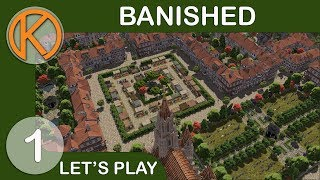 Banished MegaMod Pack | NEW FRONTIER - Ep. 1 | Let's Play Banished Gameplay
