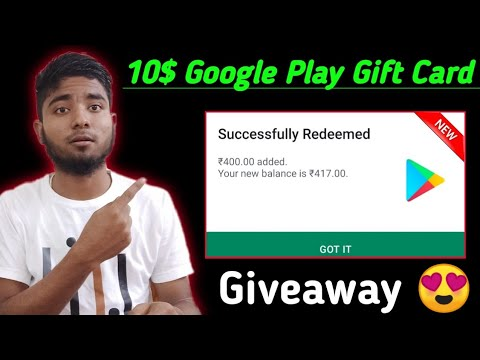 10$ GOOGLE PLAY GIFT CARD APP|| REDEEM CODE FOR PLAY STORE|| NEW FREE GIFT CARD APP || Smart Tek