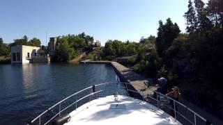 Severn River To Big Chute Marine Railway - Sit Back Sunday Gopro Boat Cruise