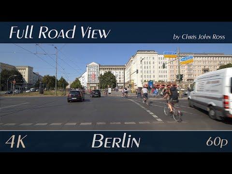 Berlin, Germany: Friedrichshain - Warschauer Straße, Frankfurter Tor,  Petersburger Straße - 4K UHD