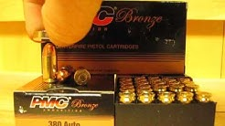 380 ACP / Auto PMC 90 grain FMJ Ammo - 380A at SGAmmo.com