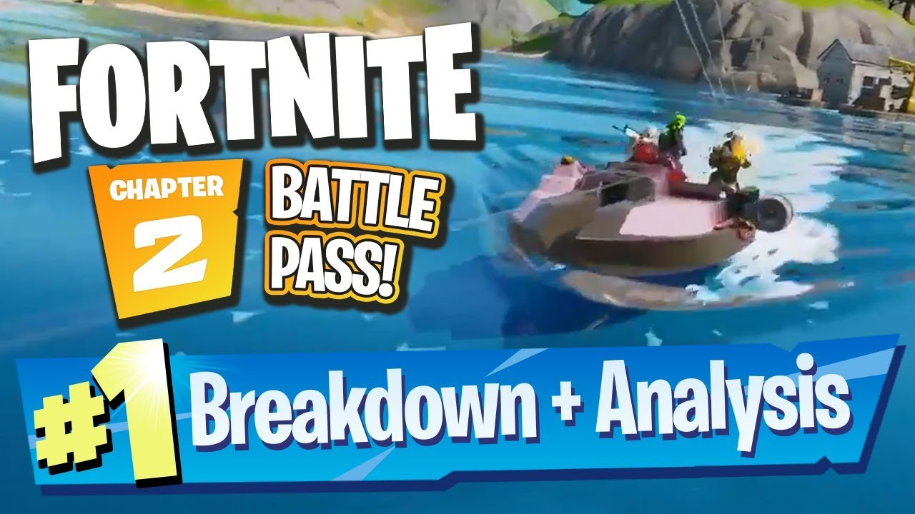 Fortnite Chapter 2 Season 1 Battle Pass Trailer Breakdown Analysis