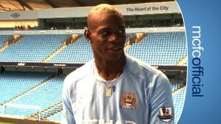 Video Mario Balotelli Signing EXCLUSIVE: Mario's First Day at Manchester City HD (Aug 2010) download MP3, 3GP, MP4, WEBM, AVI, FLV Juli 2018