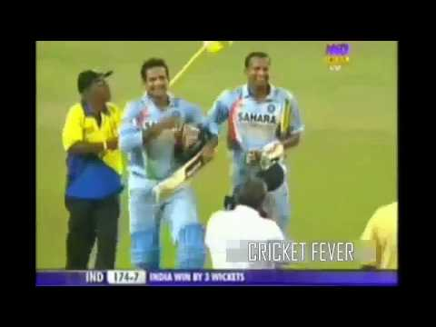 Irfan Pathan and Yusuf Pathan vs Srilanka in Cricket  victory mp4