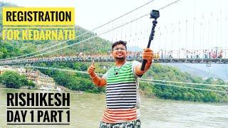 Tamil Vlogger on pilgrimage trip with Parents |Beautiful Rishikesh|Tamil Travel Vlogs | Vlog #1