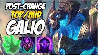 POST CHANGE TOP/MID GALIO   League of Legends (Huge SteelSeries Giveaway!)