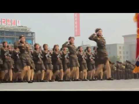 I put Tunak Tunak Tun over North Koreans Marching