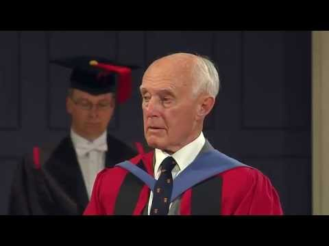 Keith Waddell - Honorary Degree - University of Leicester