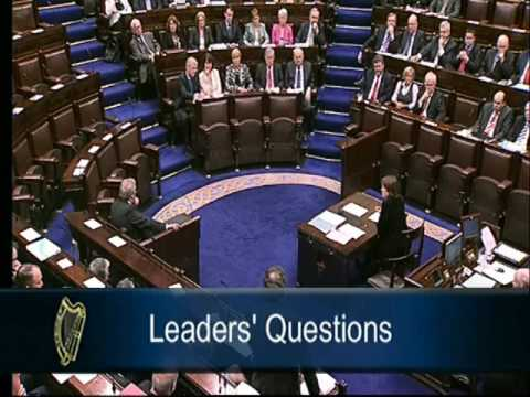Eamon Gilmore tells John O Donoghue his position is untenable