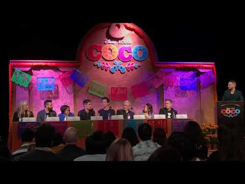 Cast & Crew of Disney/Pixar's Coco talk about making the ani