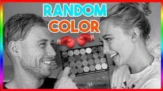 RANDOM COLOR CHALLENGE | HUSBAND edition | JkissaMakeup