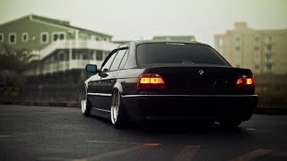 BMW e38 V16 limited edition Stance