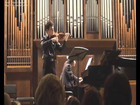 Shostakovich Violin Sonata op.134 (1st movement)