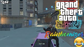 GTA: The Ballad of Gay Tony - Dropping In & For The Man Who Has Everything (RAINBOMIZER MOD #11)