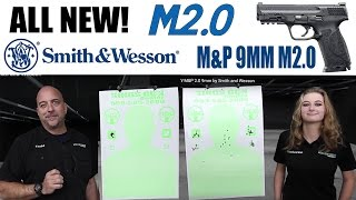 The ALL NEW M&P9 M2.0 9mm by Smith and Wesson