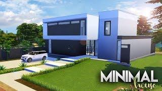 MINIMAL HOUSE #1 + CC LINKS | The Sims 4 Speed Build