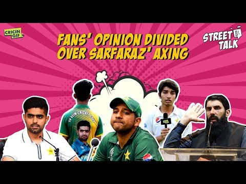 Fans' opinion divided over Sarfaraz' axing