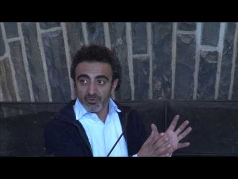 Hamdi Ulukaya, CEO, founder, and president of Chobani, at Colgate University