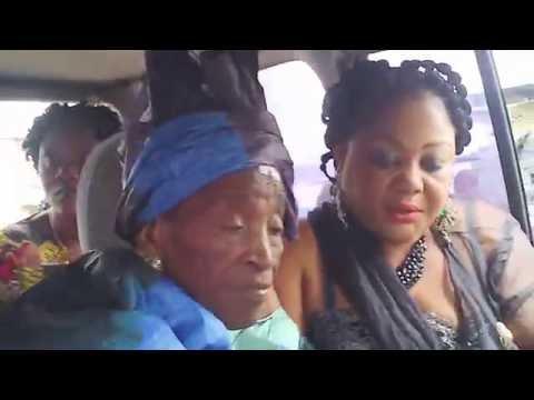 Papa Jean Tampwhuo-Sahum forever!!! Mama Emily Sanzay Ngaye in Kinshasa, DR Congo