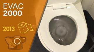 Train Vacuum Toilet and Restroom - .5 gpf / 2013 - Talgo Series 8 Trainset / Amtrak Cascades