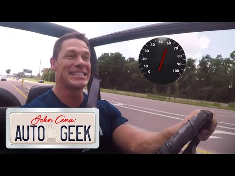 John Cena's FIRST WWE PAYCHECK paid for this vintage Jeep Wrangler! – John Cena: Auto Geek