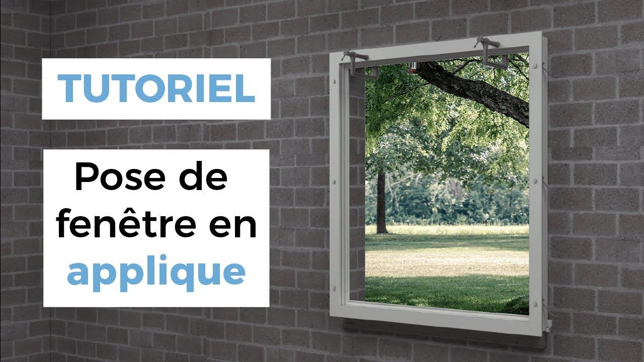 Comment Poser Une Fenêtre En Applique Brico Fenêtre Youtube