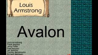 Louis Armstrong:  Avalon.