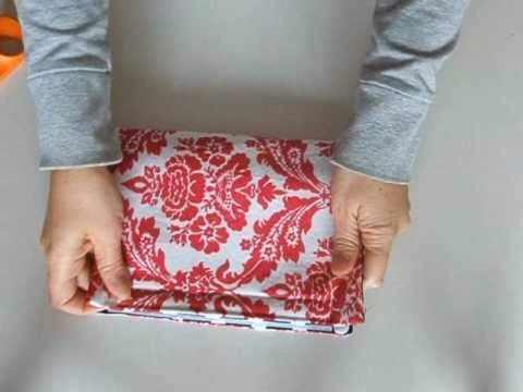 Nook cover tutorial