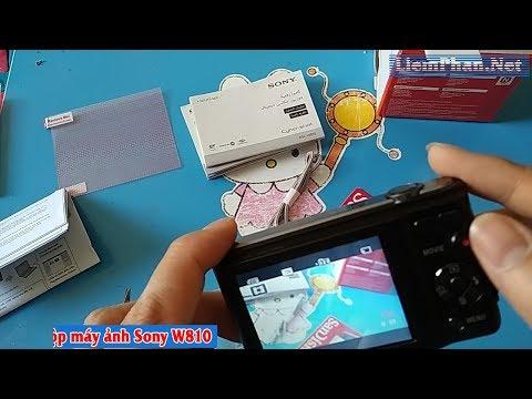 Mở Hộp Máy ảnh Du Lịch  Sony W810 Giá Hơn 2 Triệu đồng