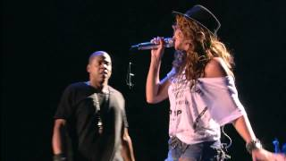Repeat youtube video Beyonce live Feat Jay-Z Forever Young HD