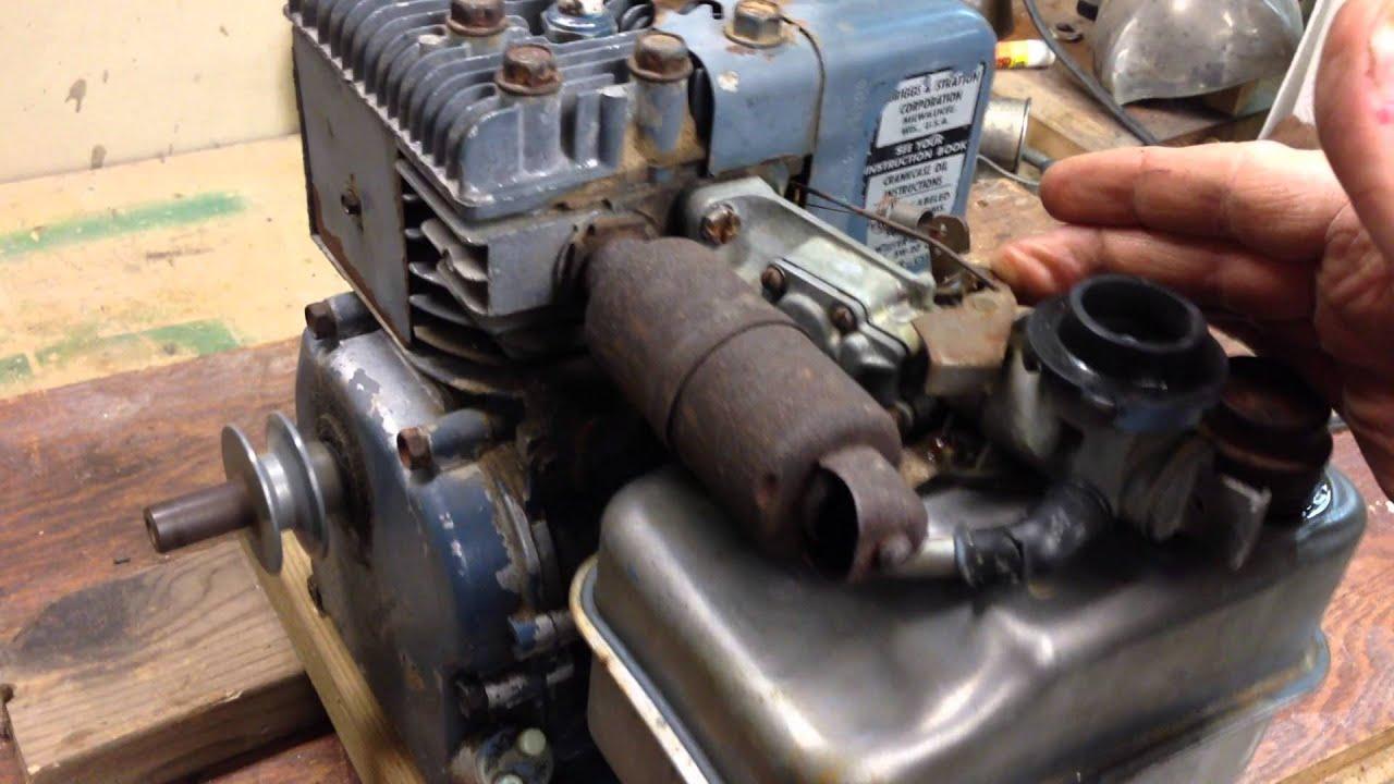 1974 briggs  u0026 stratton 3 hp 80202 vintage go cart engine