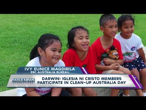 Darwin: INC members participate in 'Clean-Up Australia Day'