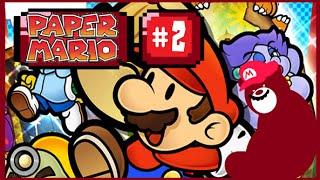 -=Lets Play Paper Mario=- #2.2 Replacing Luigi!