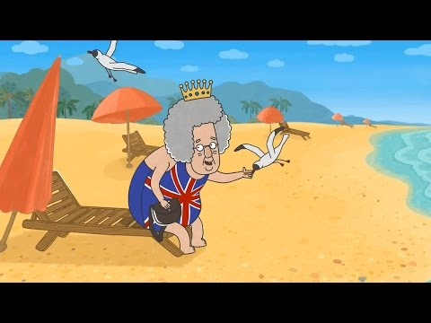 Детские песенки новые - Английская королева (из мультфильма Затмение)