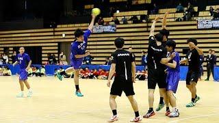 跳んでシュート鮮やか ハンドボール日本代表が函館で講習会
