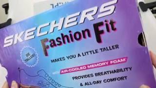 40da27884e17 Unboxing Skechers Fashion Fit - Statement Piece 12704-BBK