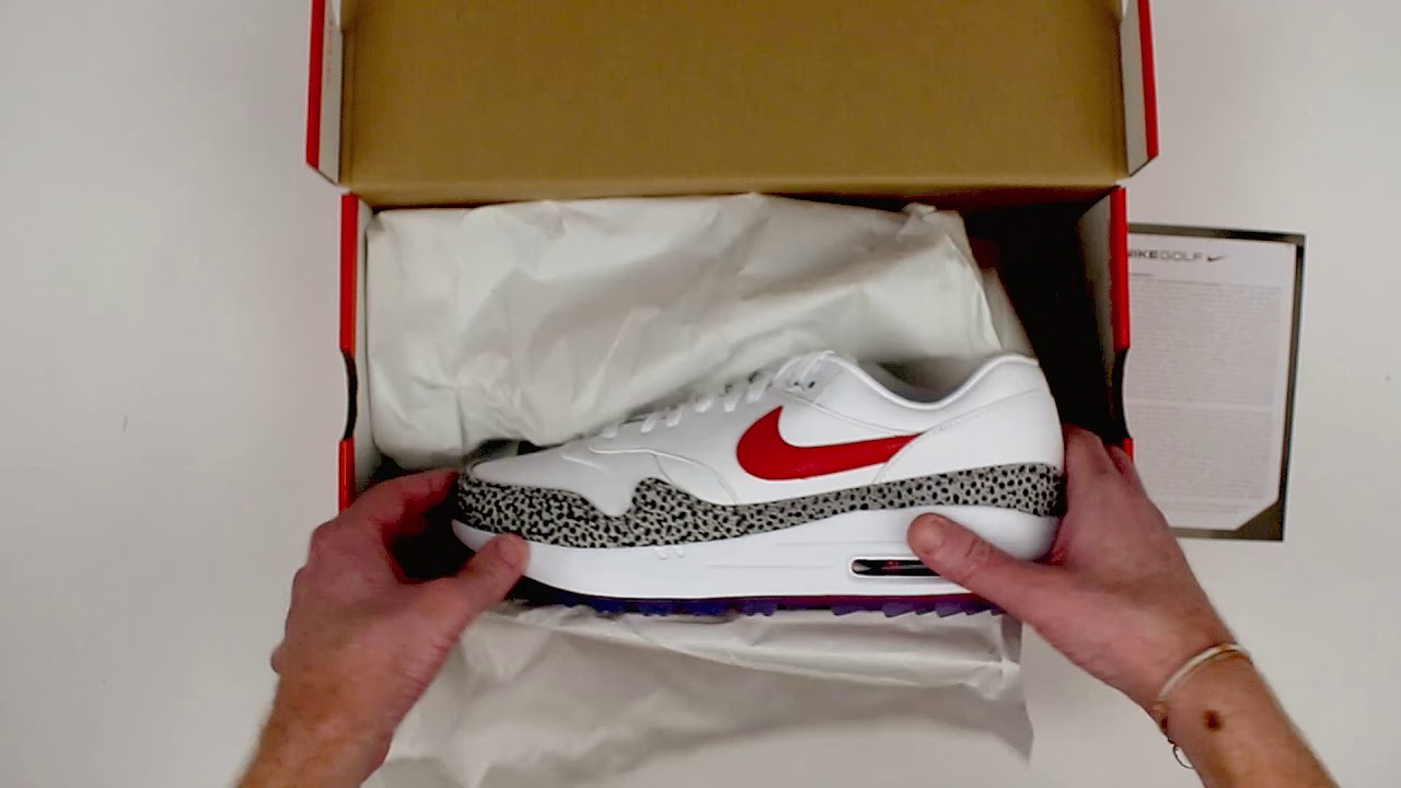Nike Air Max 1 Nrg Safari Limited Edition Unboxing Youtube