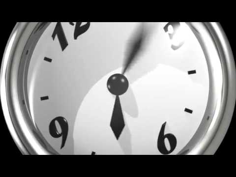 Free fast ticking clock cartoon animation HD720 Free Download!